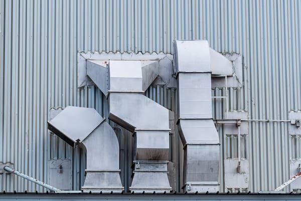 Ductos de aire acondicionado y ventilación HVAC