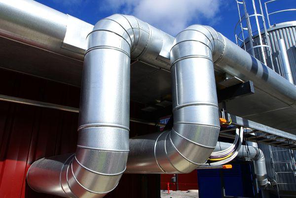 Ducterías de la industria HVAC
