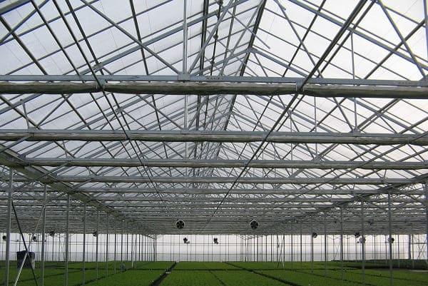 Estructuras metálicas para invernadero