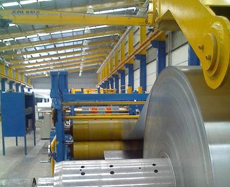Venta de acero laminado y Centro de Servicios y Rolado de Lámina en Puebla StripSteel lamina con recubrimiento
