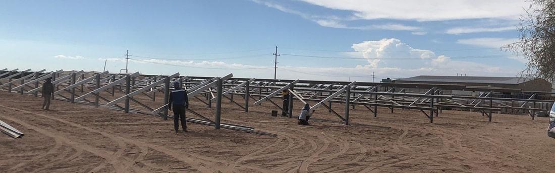 Stripsteel somos proveedores confiables de acero para Estructuras para Paneles Solares para parques fotovoltaicos, ofrecemos soluciones eficientes en acero.